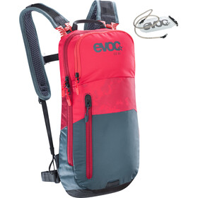 EVOC CC Lite Performance Backpack 6l + Bladder 2l, red-slate